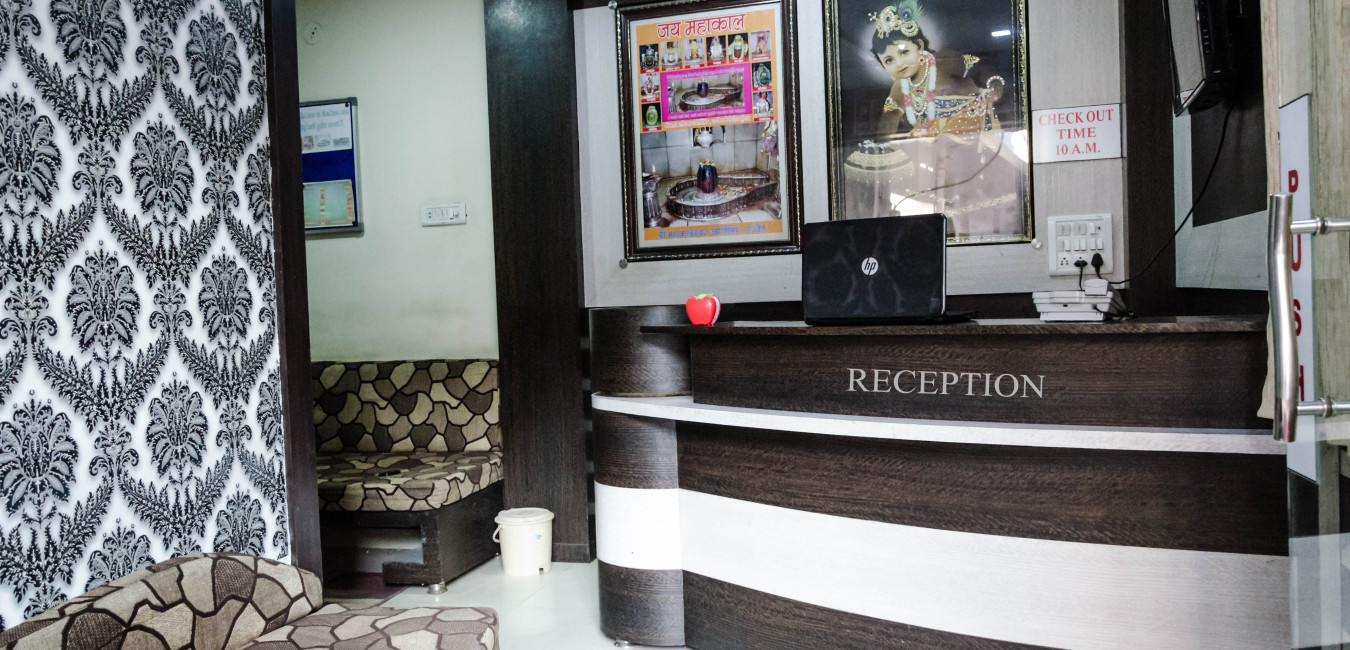 Hotel Vrandavan Palace ujjain-Reception